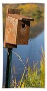 Bird House Autumn 1 Bath Towel