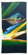 Bird Of Paradise Bath Towel