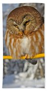 Bird On A Wire Bath Towel