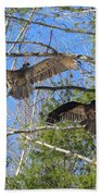 Birds Of A Feather Flock Together Bath Towel