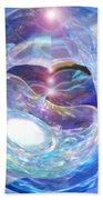 Birth Of Light Bath Towel