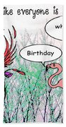 Birthday Dance Bath Towel