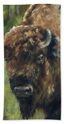 Bison Study - Zero Three Bath Towel