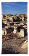 Bisti Badlands Pano Bath Towel