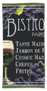 Bistro Paris Hand Towel