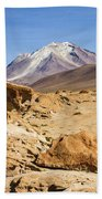 Bizarre Landscape Bolivia Bath Towel