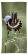 Black And White Butterfly V2 Bath Towel