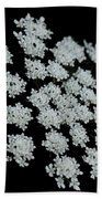 Black And White Bath Towel