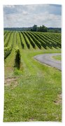 Maryland Vinyard In August Bath Towel