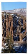 Black Canyon Butte Bath Towel