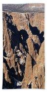 Black Canyon Pinnacles Bath Towel