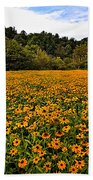Black-eyed Susans Bath Towel