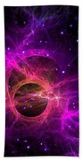 Black Hole In Space Bath Towel