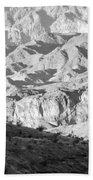 Black Mountains Of Arizona Bath Towel