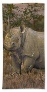 Black Rhino Tanzania Bath Towel
