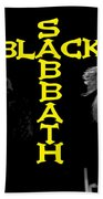 Black Sabbath 1978 Bath Towel
