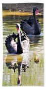 Black Swan 1 Bath Towel