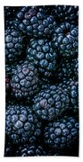 Blackberries Bath Towel
