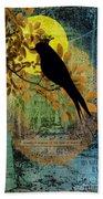 Blackbird Bath Towel