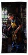 Blacksmith - Starting With A Bang  Bath Towel