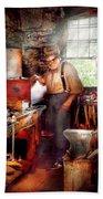 Blacksmith - The Smithy  Bath Towel