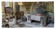 Blacksmiths Workshop Bath Towel