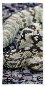 Blacktailed Rattlesnake Bath Towel