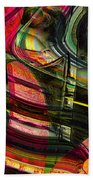 Blades In The Layered Worlds Bath Towel