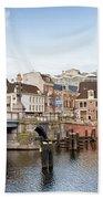 Blauwbrug In Amsterdam Bath Towel
