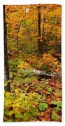 Blazing Forest Bath Towel