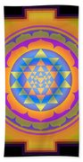 Bliss Yantra Bath Towel
