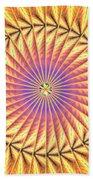 Blooming Seasons Kaleidoscope Hand Towel by Derek Gedney