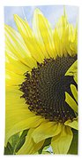 Blooming Sunflower Bath Towel