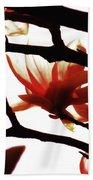 Blossom Abstract Bath Towel