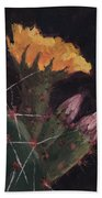 Blossom And Needles - Art By Bill Tomsa Bath Towel