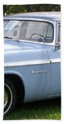 Blue 1955-56 Chrysler Bath Towel