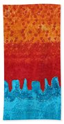 Blue Canyon Original Painting Bath Towel