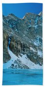 Blue Chasm Hand Towel