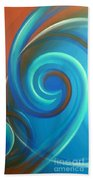 Cosmic Swirl By Reina Cottier Bath Towel