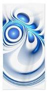 Blue Creation Bath Towel