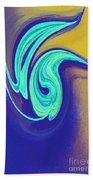Blue Dance By Jrr Bath Towel