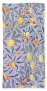 Blue Fruit Bath Towel