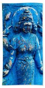 Blue Goddess Bath Towel