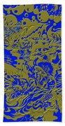Blue Gold 40 Bath Towel