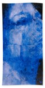 Blue Head Bath Towel