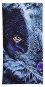 Blue Heeler Bath Towel