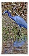 Blue Heron Louisiana Bath Towel