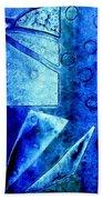 Blue   II Bath Towel