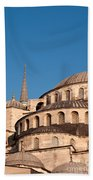 Blue Mosque Domes 07 Hand Towel