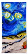 Blue Night Bath Towel